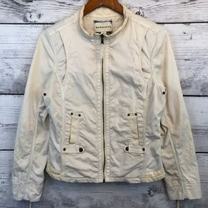 Anthropologie Marrakech Twill Moto Jacket Medium